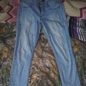 Junior size jeans
